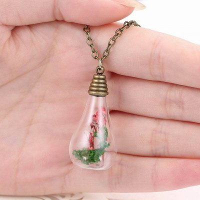 Trendy Glass Water Drop Bottle With Dry Flower Pendant Necklace For WomenNecklaces &amp; Pendants<br>Trendy Glass Water Drop Bottle With Dry Flower Pendant Necklace For Women<br><br>Item Type: Pendant Necklace<br>Gender: For Women<br>Necklace Type: Link Chain<br>Style: Trendy<br>Shape/Pattern: Water Drop<br>Length: 66CM<br>Weight: 0.05KG<br>Package Contents: 1 x Necklace