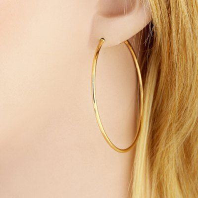 Pair of Round Earrings