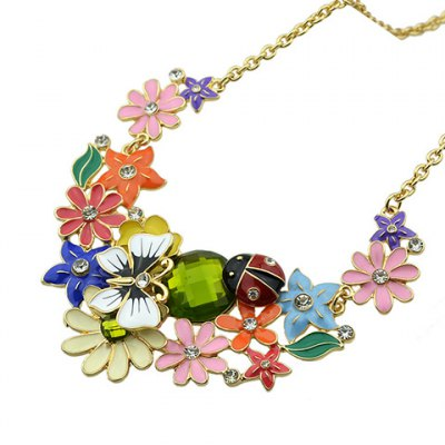 Graceful Rhinestone Star Flower Butterfly Necklace For Women от GearBest.com INT