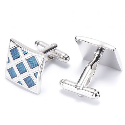 Pair of Stylish Lattice Quadrate Cufflinks For MenMens Cufflinks<br>Pair of Stylish Lattice Quadrate Cufflinks For Men<br><br>Type: Cuff Links<br>Gender: For Men<br>Metal Type: Others<br>Style: Trendy<br>Pattern Type: Plaid<br>Weight: 0.07KG<br>Package Contents: 1 x Cufflinks (Pair)