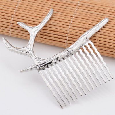 Vintage Pure Color Deer Shape Hair Comb For WomenWomens Hair Accessories<br>Vintage Pure Color Deer Shape Hair Comb For Women<br><br>Headwear Type: Hair Comb<br>Group: Adult<br>Gender: For Women<br>Style: Fashion<br>Pattern Type: Animal<br>Weight: 0.04KG<br>Package Contents: 1 x Hair Comb