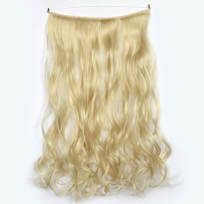 Assorted Color Long Capless Gorgeous Fluffy Curly Synthetic Hair Extension For Women