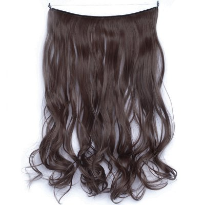 Attractive Shaggy Curly Vogue Long Heat Resistant Fiber Hair Extension For Women