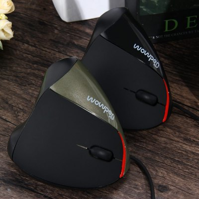 Фотография 5D 2.4GHz Wired USB Vertical Optical Mouse