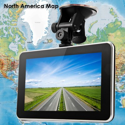 ACCO Y800S 7 inches Touch Screen Car Rear View GPS Navigator