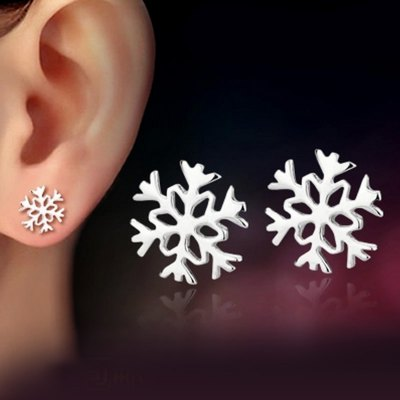 Stylish Women Jewelry Snowflake Design Stud EarringsEarrings<br>Stylish Women Jewelry Snowflake Design Stud Earrings<br><br>Earring Type: Stud Earrings<br>Gender: For Women<br>Back Finding: Screw-back<br>Metal Type: Silver Plated<br>Surface Plating: Antique Silver Plated<br>Material: None<br>Setting Type: None<br>Style: Trendy<br>Occasion: Anniversary<br>Other Decoration: Snowflake<br>Size (CM): 0.8cm x 1 cm<br>Diameter: 0.8cm<br>Weight: 0.01KG<br>Package Contents: 1 x pair of earrings
