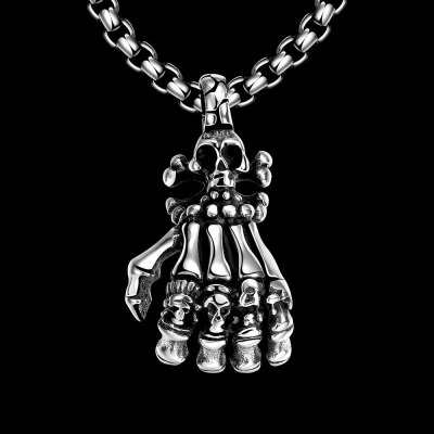 N049 Stainless Steel Vintage Pendant NecklaceNecklaces &amp; Pendants<br>N049 Stainless Steel Vintage Pendant Necklace<br>