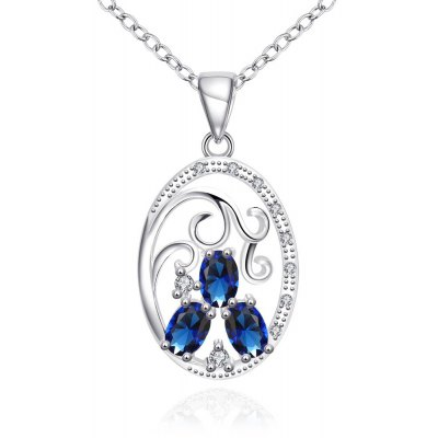 N109-A 925 Silver Plated Necklace Brand New Design Pendant Necklaces Jewelry for Women