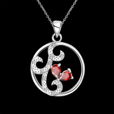 N110-B 925 Silver Plated Necklace Brand New Design Pendant Necklaces Jewelry for WomenNecklaces &amp; Pendants<br>N110-B 925 Silver Plated Necklace Brand New Design Pendant Necklaces Jewelry for Women<br>