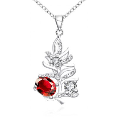 N113-B 925 Silver Plated Necklace Brand New Design Pendant Necklaces Jewelry for Women