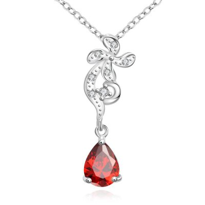 N114-B 925 Silver Plated Necklace Brand New Design Pendant Necklaces Jewelry for Women