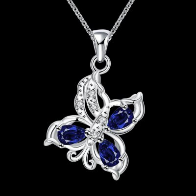 N116-A 925 Silver Plated Necklace Brand New Design Pendant Necklaces Jewelry for WomenNecklaces &amp; Pendants<br>N116-A 925 Silver Plated Necklace Brand New Design Pendant Necklaces Jewelry for Women<br>