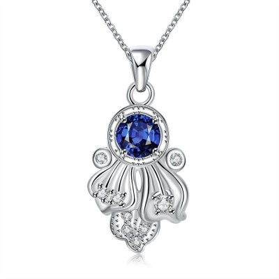 N119-A 925 Silver Plated Necklace Brand New Design Pendant Necklaces Jewelry for Women