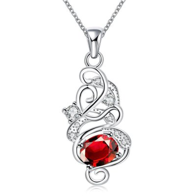 N117-B 925 Silver Plated Necklace Brand New Design Pendant Necklaces Jewelry for Women