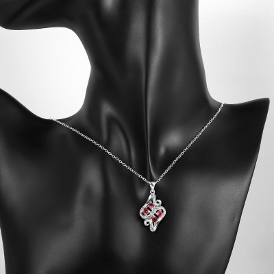 N118-B 925 Silver Plated Necklace Brand New Design Pendant Necklaces Jewelry for Women