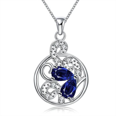 N120-A 925 Silver Plated Necklace Brand New Design Pendant Necklaces Jewelry for Women