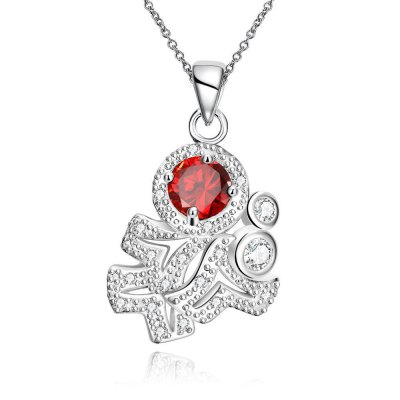 N121-B 925 Silver Plated Necklace Brand New Design Pendant Necklaces Jewelry for Women