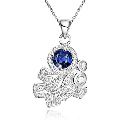 N121-A 925 Silver Plated Necklace Brand New Design Pendant Necklaces Jewelry for Women