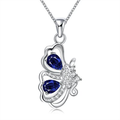 N123-A 925 Silver Plated Necklace Brand New Design Pendant Necklaces Jewelry for Women