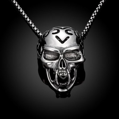N023 Titanium Fashion Chain 316L Stainless Steel Vintage Pendant NecklaceNecklaces &amp; Pendants<br>N023 Titanium Fashion Chain 316L Stainless Steel Vintage Pendant Necklace<br>