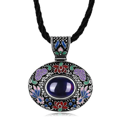 N011-A Classic National Style Necklace for Women