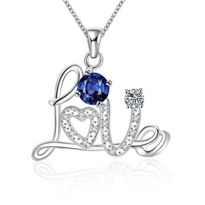 N126 - A 925 Silver Plated Pendant Necklace Jewelry for Women