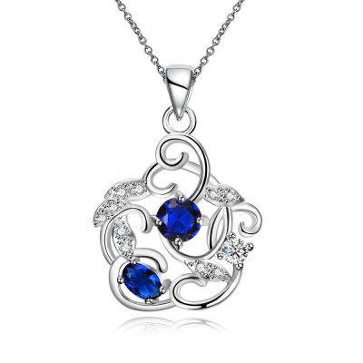 N127-A 925 Silver Plated Necklace