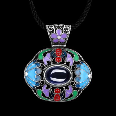 N006-A Ladies Retro National Style NecklaceNecklaces &amp; Pendants<br>N006-A Ladies Retro National Style Necklace<br>