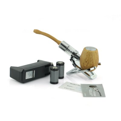 Kamry K1000 ePipe Retro Pipe E cigarette Kit with Charging Dock and 18350 Batteries