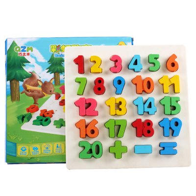 23pcs-qzm-colorful-counting-number-wooden-learning-board-puzzle-interactive-toy