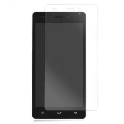 Original DOOGEE X5 / X5 PRO Accessary Tempered Glass Protective Screen Film + Protective Cover Case Set