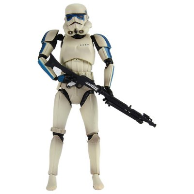 Classic Movie Special Type Blue Revoltech Figure Model 15cm Kid Gift