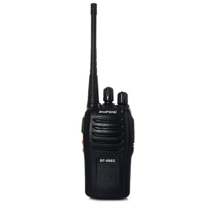 BAOFENG BF-666S UHF Walkie Talkie 16 Channels 400 - 470MHz