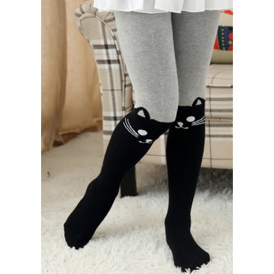 Fashionable Elastic Waist Cartoon Cat Print Color Block Thicken Leggings For GirlGirls Clothing<br>Fashionable Elastic Waist Cartoon Cat Print Color Block Thicken Leggings For Girl<br><br>Style: Fashion<br>Material: Polyester<br>Waist Type: Mid<br>Pattern Type: Character<br>Weight: 0.195kg<br>Package Contents: 1 x Leggings