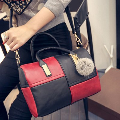 Trendy Metal and Colour Block Design Womens Tote BagWomens Bags<br>Trendy Metal and Colour Block Design Womens Tote Bag<br><br>Handbag Type: Totes<br>Style: Fashion<br>Gender: For Women<br>Pattern Type: Patchwork<br>Handbag Size: Small(20-30cm)<br>Closure Type: Zipper<br>Interior: Interior Zipper Pocket<br>Occasion: Versatile<br>Main Material: PU<br>Hardness: Soft<br>Weight: 0.585kg<br>Size(CM)(L*W*H): 29*10*24<br>Strap Length: Short:10CM, Long:60-130CM (Adjustable)<br>Package Contents: 1 x Tote Bag