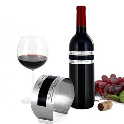 Stainless Steel Wine Bracelet Thermometer