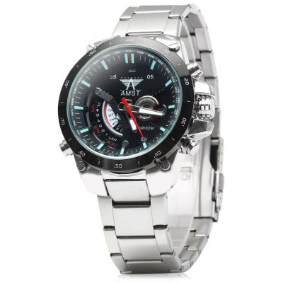 AMST 3008 Men Calendar Military Quartz Watch