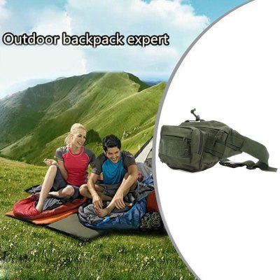 Outdoor Military Tactical Waist Pack for Camping Cycling