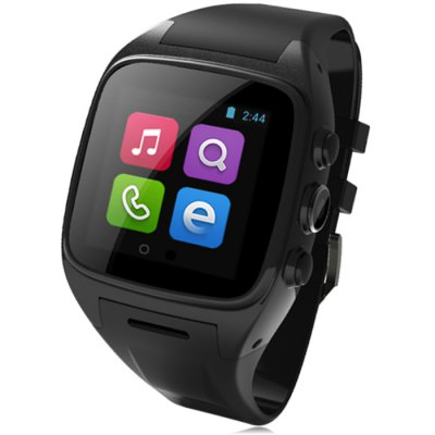 ORDRO SW16 3G Smartwatch PhoneSmart Watch Phone<br>ORDRO SW16 3G Smartwatch Phone<br><br>Type: Watch Phone<br>OS: Android 4.4<br>CPU: MTK6572<br>Cores: 1GHz,Cortex-A7,Dual Core<br>GPU: Mali-400 MP<br>RAM: 512MB<br>ROM: 4GB<br>External Memory: TF card up to 32GB (not included)<br>Wireless Connectivity: 3G,Bluetooth,WiFi<br>WIFI: 802.11b/g/n wireless internet<br>Network type: GSM+WCDMA<br>Frequency: GSM 850/900/1800/1900MHz WCDMA 2100MHz<br>Support 3G : Yes<br>GPS: Yes<br>Bluetooth: Yes<br>Screen type: Capacitive (2-Points)<br>Screen size: 1.54 inch<br>IPS: Yes<br>Screen resolution: 240 x 240<br>Camera type: Single camera<br>Front camera: 3.0MP ( interpolated to 5.0MP )<br>SIM Card Slot: Single SIM<br>TF card slot: Yes<br>Micro USB Slot: Yes<br>Picture format: BMP,GIF,JPEG,PNG<br>Music format: AAC,MP3,WAV<br>Video format: 3GP,MP4<br>Games: Android APK<br>Languages: Bahasa Indonesia, Bahasa Melayu, Czech, German, English, Spanish, Filipino, French, Italian, Magyar, Dutch, Portuguese, Portuguese, Vietnamese, Turkish, Greek, Russian, Hebrew, Arab, Thai, Korean<br>Additional Features: 3G,Bluetooth,Browser,GPS,MP3,MP4<br>Cell Phone: 1<br>Battery: Built-in 600mAh Battery<br>Charger: 1<br>Screwdriver: 1<br>Screw: 2<br>Product size: 5.56 x 4.65 x 1.38 cm / 2.19 x 1.83 x 0.54 inches<br>Package size: 13.00 x 10.00 x 8.00 cm / 5.12 x 3.94 x 3.15 inches<br>Product weight: 0.112 kg<br>Package weight: 0.330 kg