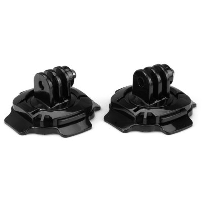 CP-GP124 360 Degree Swivel Helmet Mount AdapterAction Cameras &amp; Sport DV Accessories<br>CP-GP124 360 Degree Swivel Helmet Mount Adapter<br><br>Apply to Brand: GitUp,Discovery,FIREFLY,XiaoMi,Gopro,SJCAM,INNOVV,Amkov,Soocoo,Eken,Dazzne<br>Compatible with: Gopro Hero 4,Gopro Hero 3 Plus,Gopro Hero 3,Gopro Hero 2,Gopro Hero 1,GoPro Hero Series,SJ4000,SJ5000,SJ6000,Action Camera,Mobius Action Sports Camera,AMK 5000,AMK 5000S,Xiaomi Yi,GitUp Git1,GoPro Her<br>Accessory type: Mount Adapter,Adhesive Tap<br>Material: Adhesive tape,Plastic,Metal<br>For Activity: Surfing,Snowboarding,General Sports,Universal<br>Product weight: 0.014 kg<br>Package weight: 0.09 kg<br>Product size (L x W x H): 5.4 x 5.4 x 3 cm / 2.12 x 2.12 x 1.18 inches<br>Package size (L x W x H): 10 x 9 x 5 cm / 3.93 x 3.54 x 1.97 inches<br>Package Contents: 2 x CP-GP124 360 Degree Swivel Helmet Mount Adapter, 2 x 3M Adhesive Tape