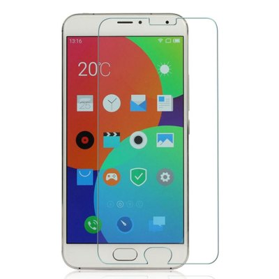 Tempered Glass Screen Protector Film 9H 2.5D for Meizu Pro 5
