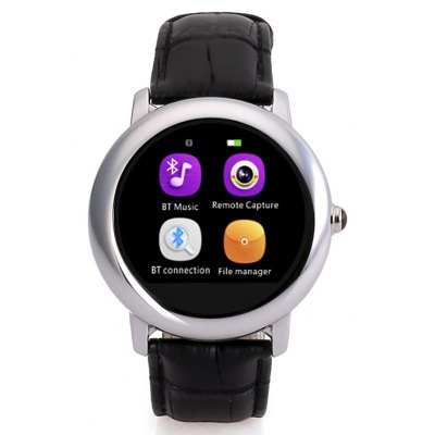 H8S Round Dial Smartwatch Phone