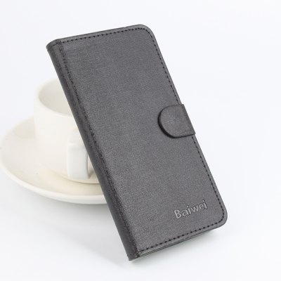 PU Protective Case with Stand and Card Slots for MEIZU METAL