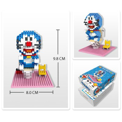 LOZ 340Pcs XXL-9806 Doraemon Bathroom Building Block Toy for Enhancing Social Cooperation AbilityBlock Toys<br>LOZ 340Pcs XXL-9806 Doraemon Bathroom Building Block Toy for Enhancing Social Cooperation Ability<br><br>Product Model: XXL-9806<br>Type: Building Blocks<br>Age: 14 Years+<br>Material: ABS<br>Product prototype: Doraemon<br>Character Name: Doraemon Bathroom<br>Design Style: Figure Statue<br>Features: DIY<br>Puzzle Style: 3D Puzzle<br>Small Parts : Yes<br>Washing: Yes<br>Applicable gender: Unisex<br>Package weight: 0.120 kg<br>Package size (L x W x H): 13.50 x 10.00 x 4.50 cm / 5.31 x 3.94 x 1.77 inches<br>Package Contents: 340 x Module, 1 x User Manual
