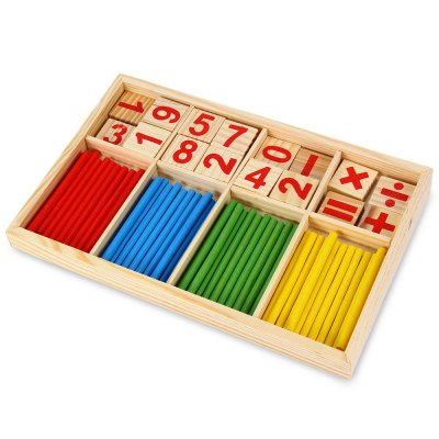 Wooden Montessori Mathematics Material Learning Tool Toy for Kids