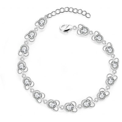 Charming Silver Plated Bracelet H375