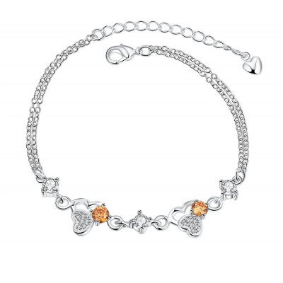 Fashion Close Heart Bracelet