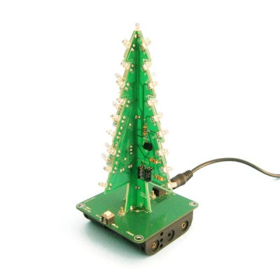 3D Christmas Tree LED Learning Kit