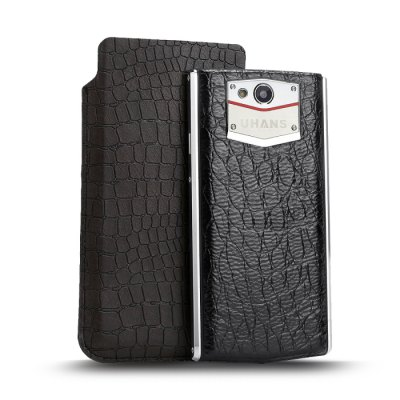 UHANS U100 Accessary Crocodile Pattern Protective PU Leather Case