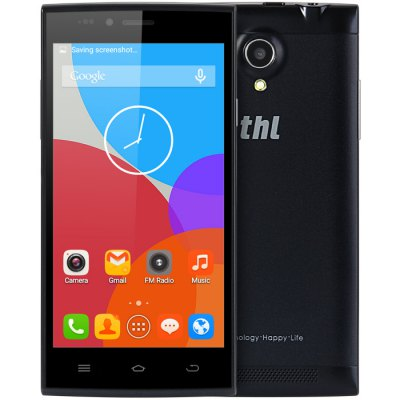 THL T6C 3G SmartphoneCell phones<br>THL T6C 3G Smartphone<br><br>Brand: Thl<br>Type: 3G Smartphone<br>OS: Android 6.0<br>Service Provide: Unlocked<br>Languages: English, Spanish, Italian, Russian, German, French, Hebrew, Hungarian, Greek, Portuguese, Afrikaans, Malay, Catalonian, Czech, Danish, Croatian, Latvian, Lithuanian, Dutch, Polish, Norwegian, Romanian<br>SIM Card Slot: Dual SIM,Dual Standby<br>SIM Card Type: Micro SIM Card,Standard SIM Card<br>CPU: MTK6580<br>Cores: 1.3GHz,Quad Core<br>GPU: Mali-400 MP<br>RAM: 1GB RAM<br>ROM: 8GB<br>External Memory: TF card up to 32GB (not included)<br>Wireless Connectivity: 3G,Bluetooth 4.0,GPS,GSM<br>WIFI: 802.11b/g/n wireless internet<br>Network type: GSM+WCDMA<br>3G: WCDMA 850/2100MHz<br>2G: GSM 850/900/1800/1900MHz<br>Screen type: Capacitive<br>Screen size: 5.0 inch<br>Screen resolution: 854 x 480 (FWVGA)<br>Camera type: Dual cameras (one front one back)<br>Back-camera: 5.0MP ( interpolated to 8.0MP )<br>Front camera: 0.3MP ( interpolated to 2.0MP )<br>Video recording: Yes<br>Flashlight: Yes<br>Picture format: BMP,GIF,JPEG,PNG<br>Music format: AAC,MP3,WAV<br>Video format: 3GP,AVI,MP4<br>Games: Android APK<br>I/O Interface: 1 x Micro SIM Card Slot,1 x Standard SIM Card Slot,3.5mm Audio Out Port,Micro USB Slot,TF/Micro SD Card Slot<br>Bluetooth version: V4.0<br>Sensor: Ambient Light Sensor,Gravity Sensor,Proximity Sensor<br>Additional Features: 3G,Alarm,Bluetooth,Browser,Calculator,Calendar,E-book,FM,GPS,MP3,MP4,People,Sound Recorder,Wi-Fi<br>Battery Capacity (mAh): 1 x 1900mAh<br>Battery Type: Li-ion Battery<br>Cell Phone: 1<br>Power Adapter: 1<br>USB Cable: 1<br>Back Case : 1<br>English Manual : 1<br>Product size: 14.39 x 7.16 x 0.82 cm / 5.67 x 2.82 x 0.32 inches<br>Package size: 18.00 x 12.00 x 6.00 cm / 7.09 x 4.72 x 2.36 inches<br>Product weight: 0.159 kg<br>Package weight: 0.390 kg